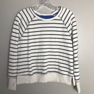 Tops - Tommy Hilfiger Pullover Stripe Thumb Hole Large